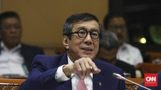 Yasonna Sebut Omnibus Law dan RUU Ibu Kota 'Sangat Prioritas'