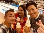 Siwon Suju Posting Foto Bareng Raffi & Nagita, Vlog Bareng?