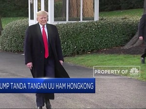 UU HAM Hong Kong Diteken, Gimana Nasib Deal Dagang As-China?