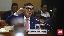 KPK Cuek Menteri Yasonna Jadi Tim Hukum PDIP di Kasus KPU