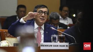 Yasonna Ajak Komisi III Bahas Ulang Pasal Kontroversial RKUHP