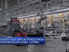 Audi Pangkas Ribuan Karyawan Demi Kembangkan Mobil Listrik