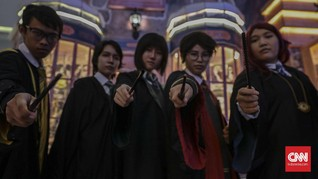 FOTO: Ada Hogwarts di Jakarta Barat
