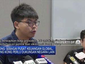 Aktivis Pro Demokrasi Hong Kong Puji Sikap Trump