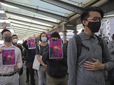 Demo Belum Reda, China Copot Pejabat Penting di Hong Kong