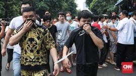 Polisi Serahkan 80 Warga China Tukang Tipu ke Imigrasi