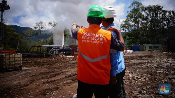 Pulau Flores di Nusa Tenggara Timur bakal jadi pulau pertama di bumi pertiwi yang mencapai target bauran energi baru terbarukan sebesar 23%