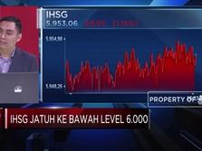 Anjlok Lebih Dari 1%, IHSG Tembus Ke Level di Bawah 6.000