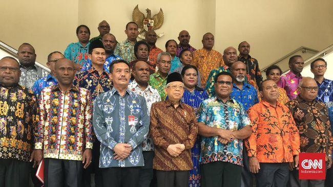 Temui Ma'ruf, MRP Bicara soal Orang Papua Jadi Minoritas