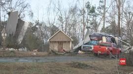 VIDEO: Tornado Hantam Mississippi dan Lousiana