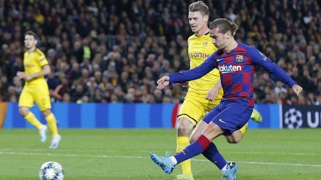 Hasil Liga Champions: Barcelona Menang 3-1 atas Dortmund