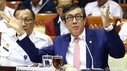 Pernyataan Lengkap Yasonna Soal Kriminal di Priok yang Jadi Kontroversi