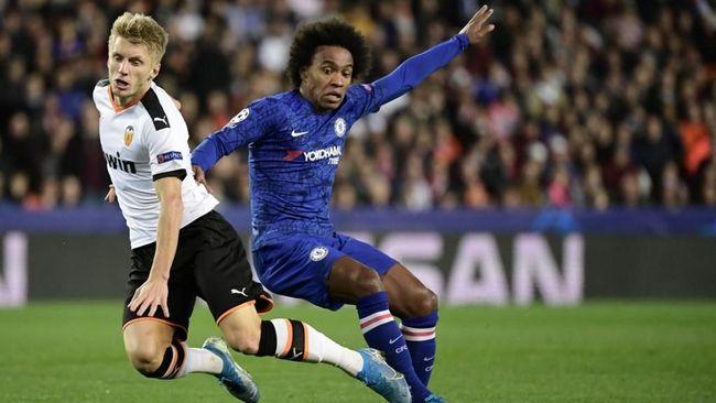 Hasil Liga Champions: Chelsea Ditahan Imbang Valencia 2-2