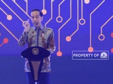 Jokowi Tak Kuat Gaji Putra Mahkota Uni Emirat Arab