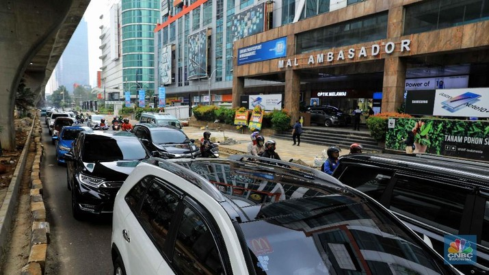 Penampakan Jalan yang Buat Jokowi Ngeluh Macet 1/2 Jam