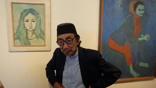 Maestro Lukis 'Mata Hitam' Jeihan Sukmantoro Meninggal Dunia