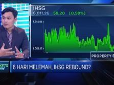 Teknikal Rebound, IHSG Coba Bertahan di level 6.000