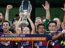 Sepak Terjang FC Barcelona di Kanca Dunia