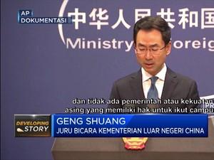 AS Terima Konsekuensi dari China Atas Pengesahan UU Hong Kong