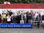 Ekonomi Memburuk, Demonstran Kepung Bank Sentral Lebanon
