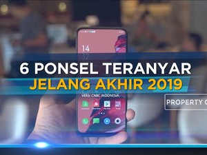 Jajaran Ponsel Teranyar Jelang Akhir 2019