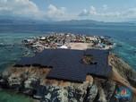 Cantiknya Pulau Messah, Pulau Berselimut Panel Surya di Timur