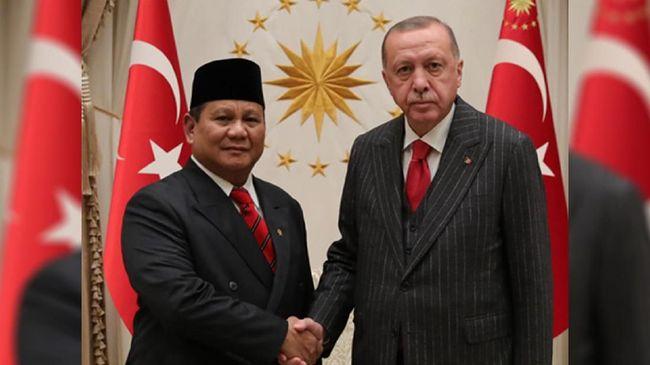 Erdogan Terima Kunjungan Prabowo di Kompleks Presiden