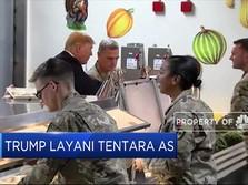 Presiden Trump Kunjungi Tentara AS di Afghanistan