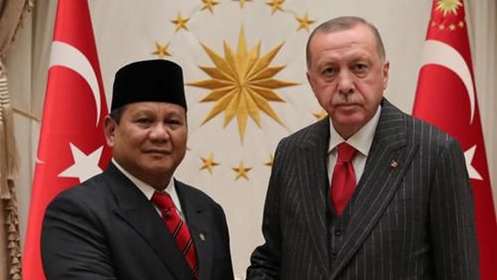 Bertemu Erdogan, Ini Isu Penting yang Dibicarakan Prabowo