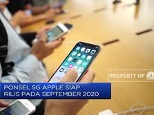 Apple Siap Luncurkan Ponsel 5G di September 2020