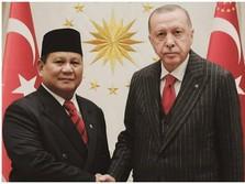 Saat Prabowo Jumpa Erdogan di Turki, Apa yang Dibicarakan?