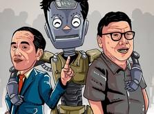 Saat Jokowi Pilih Robot Ketimbang PNS Eselon III dan IV