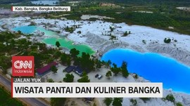 VIDEO: Wisata Pantai dan Kuliner Bangka