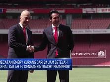 Resmi! Arsenal Pecat Unai Emery
