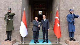Dubes RI Sebut Pertemuan Prabowo-Erdogan Berlangsung Hangat