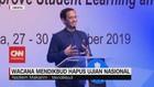 VIDEO: Mendikbud Nadiem Makarim Akan Hapus Ujian Nasional