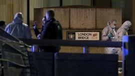FOTO: Teror Penikaman di London Bridge