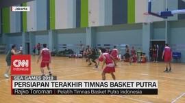 VIDEO: Persiapan Terakhir Timnas Basket Putra