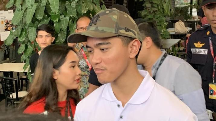 Putra bungsu Presiden Joko Widodo, Kaesang Pangarep menjadi bagian dari e-Sport. (CNBC Indonesia/Lynda Hasibuan)