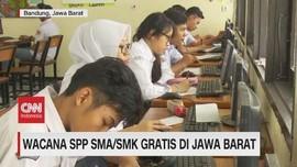 VIDEO: 2020, SPP SMA/SMK Gratis di Jawa Barat