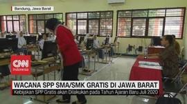 VIDEO: SPP Gratis Untuk SMA & SMK di Jawa Barat Mulai 2020