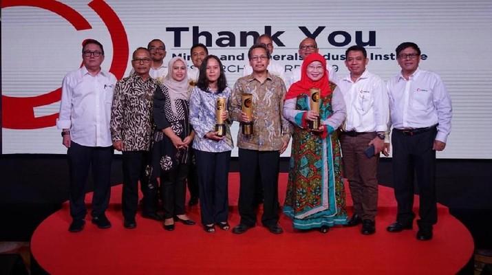 Kompetisi Inovasi Mining and Minerals Industry Institute (MMII) Research Awards 2019 memasuki tahap akhir.