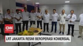 VIDEO: LRT Jakarta Resmi Beroperasi Komersial Mulai Hari Ini