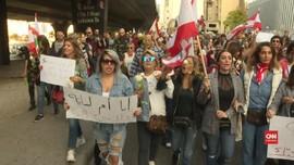 VIDEO: Warga Muslim dan Kristen Libanon Gelar Aksi Unjuk Rasa