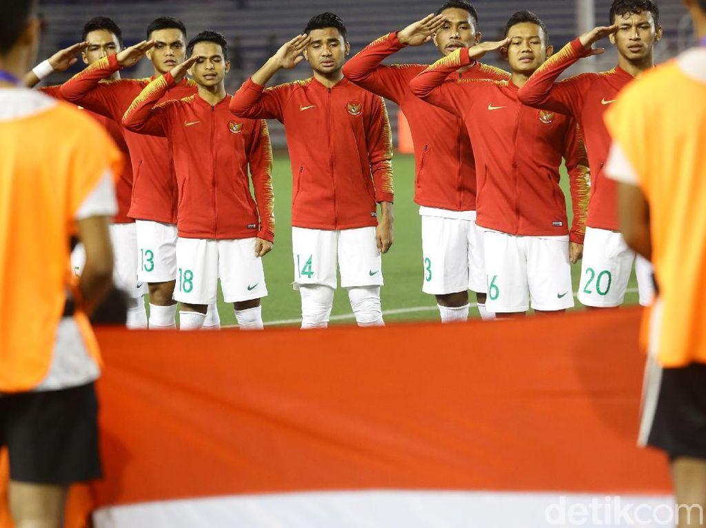 Indonesia menurunkan pemain seperti Nadeo Argawinata, Dodi Alekvan Djin, Bagas Adi, Andy Setyo, Asnawi Mangkualam, Zulfiandi, Rachmat Irianto, Sani Rizky, Irkham Zahrul Milla, Saddil Ramdani, dan Osvaldo Haay.