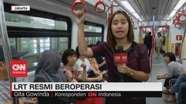 VIDEO: LRT Resmi Beroperasi, Tarif Rp.5.000