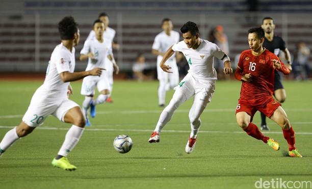 Momen Indonesia Dibekuk Vietnam 1-2 di SEA Games 2019