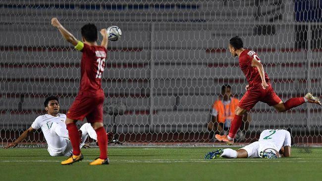 Lawan Indonesia, Vietnam Spesialis 'Gol Telat' di SEA Games