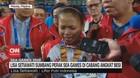 VIDEO: Tangis Lisa Setiawati Saat Hanya Sumbang Perak