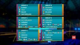 VIDEO: Grup 'Neraka' di Undian Piala Eropa 2020